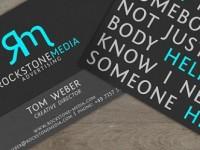 20 diseños de tarjetas de presentación con excelentes tipografías