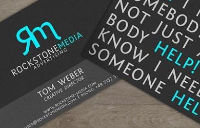 ejemplos tarjetas presentación