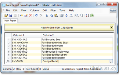 tabular text editor ver modificar archivos csv excel