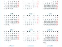 Crea e imprime tu propio Calendario Anual 2013