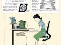 Nueva infografía donde detalla 4 cosas del escritorio que distraen y arruinan nuestra productividad