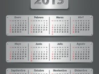 Descarga calendario 2013 vectorizado gratis