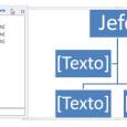Word panel de texto smartart