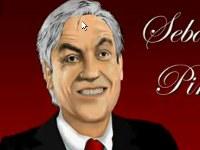 Presidente Piñera pintado en Excel