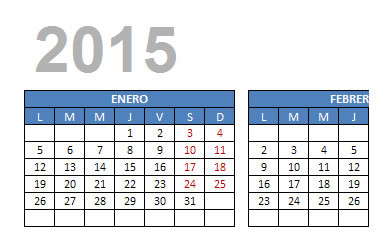 descarga calendario 2015