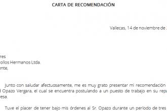 formato carta recomendacion laboral 330x220png