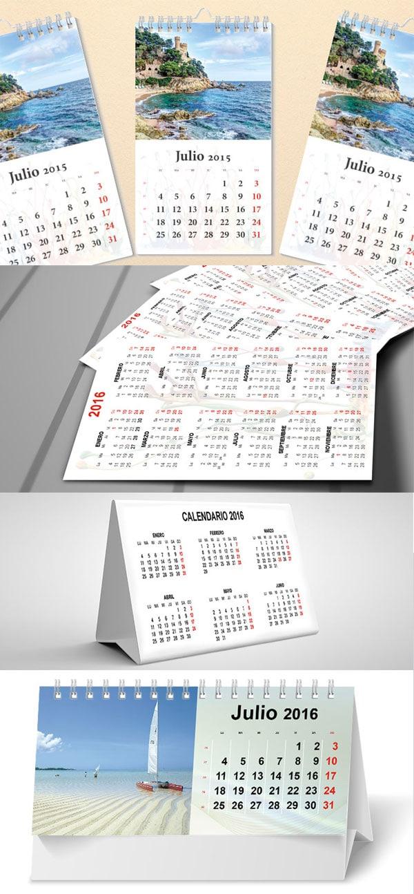 calendario 2016 editable