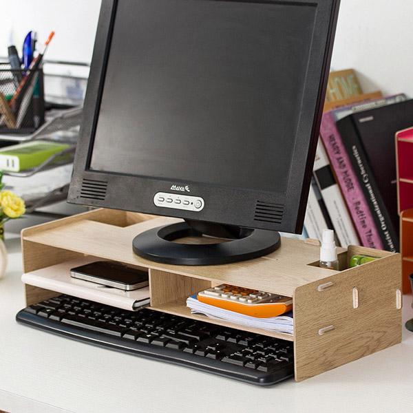 aliexpress organizador escritorio madera