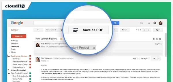 como guardar gmail en pdf