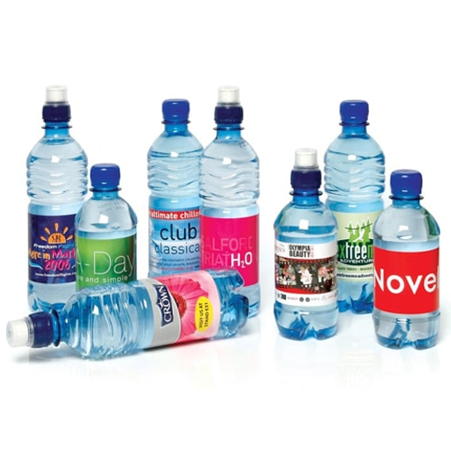 branding corporativo botellas agua