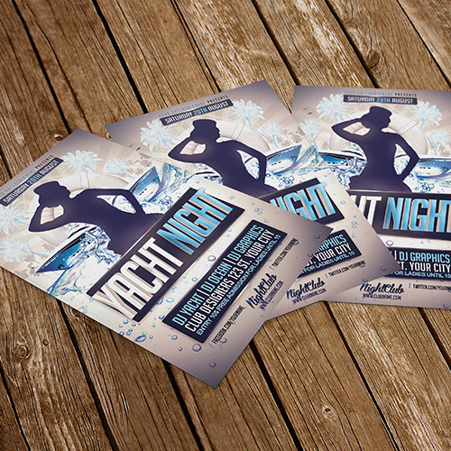 branding corporativo flyers