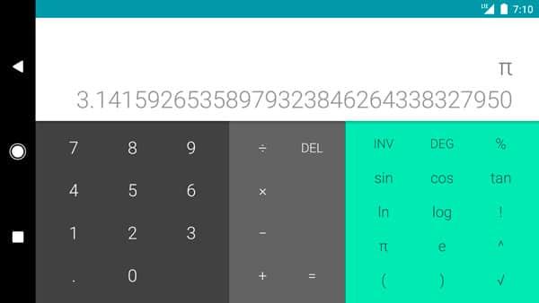 calculadora oficial de google