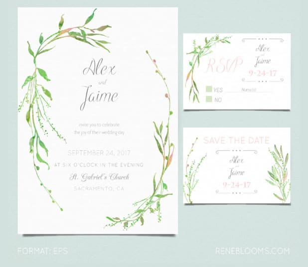 formato de invitaci u00f3n de boda para imprimir gratis y editable
