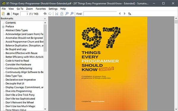 lectores ligeros de archivos pdf