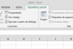 ¿Cómo activar la pestaña desarrollador en Excel 2013?