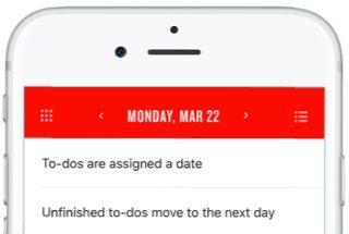 TeuxDeux, servicio online para organizar tareas diarias