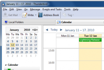 Plugins Thunderbird: agrega un calendario con Lightning