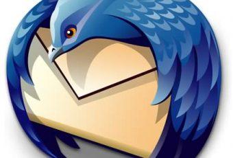 Mozilla Thunderbird no va más
