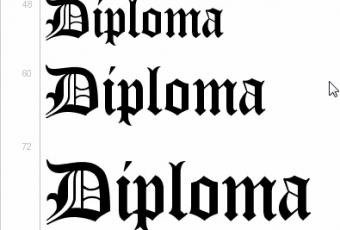 Diploma, un tipo de letra gratis para… diplomas