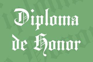 Letras góticas para diplomas y certificados