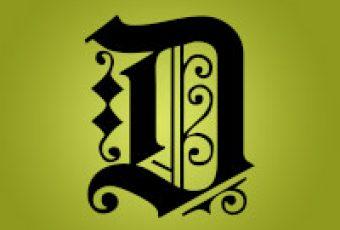 10 tipos de letras para diplomas y certificados (tipografías góticas o antiguas)