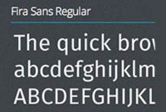 Firefox nos regala la tipografía Fira Sans