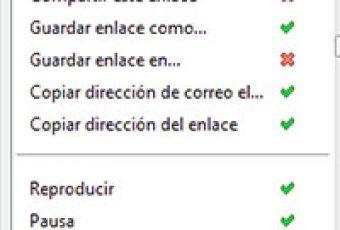 Editar el menú contextual de Firefox