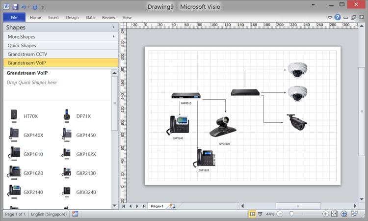 formas para visio microsoft