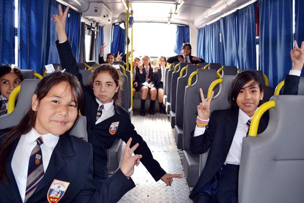 bus municipalidad certificado alumno