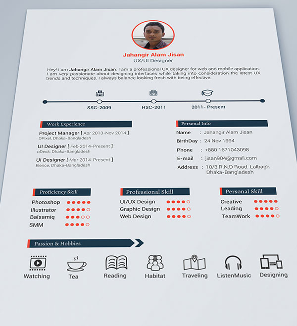 editable curriculum psd