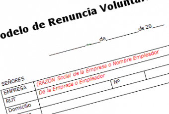 Descarga formato de carta de renuncia voluntaria