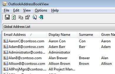 Cómo ver y buscar en todos los contactos de Outlook fácilmente