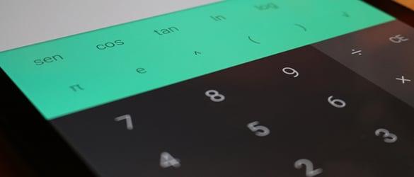 Calculadora Android, descargar  desde Google Play