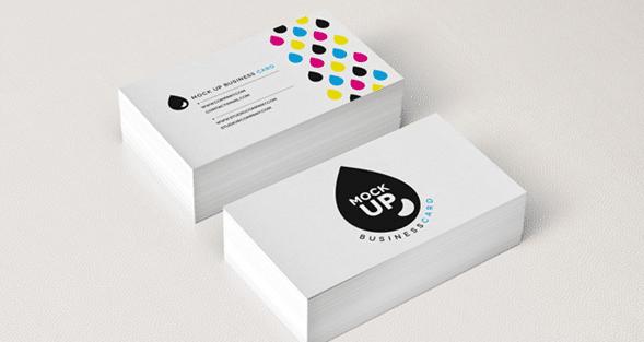 mockup tarjeta de presentacion