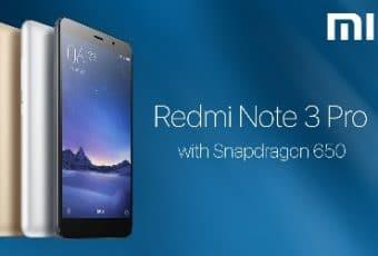 Comprar móvil Xiaomi Redmi Note 3 Pro: toda la información