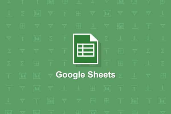 hojas calculo google manual