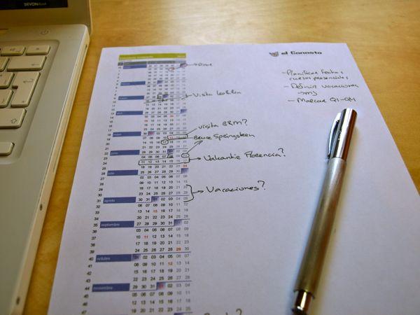 calendario compacto 2017