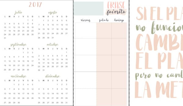 planner word template