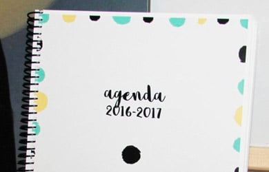 agendas para imprimir 2017