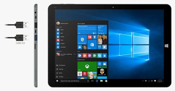 tablet para tareas de oficina