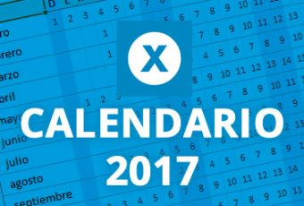 Descarga el estupendo calendario 2017 de Excel Total