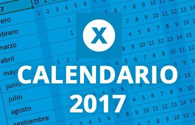 exceltotal calendario 2017