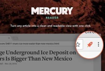 Leer sin distracciones con Mercury Reader para Chrome (antes Readability)