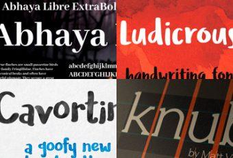 Letras bonitas para títulos, tipografías para captar la atención