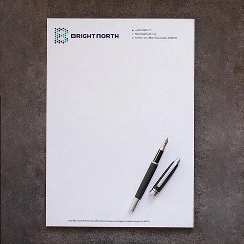 branding corporativo papel