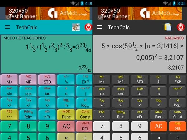 calculadora cientifica para android