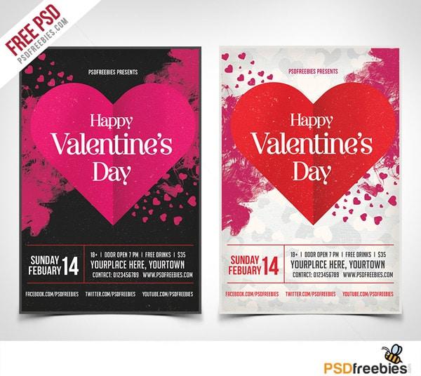 dia de los enamorados afiche