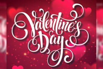 Descarga formatos de afiches para San Valentín en PSD
