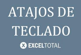 Guía de atajos de teclado de Excel Total