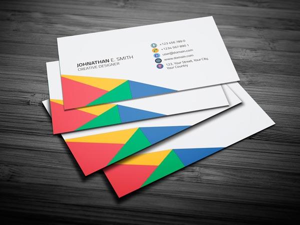 tarjeta visita colores imprimir